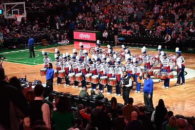 Drumline at Boston Celtics, 02/02/18