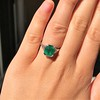 3.08ct Vintage Emerald Solitaire, by Tiffany & Co 3