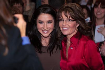 Bristol and Sarah Palin