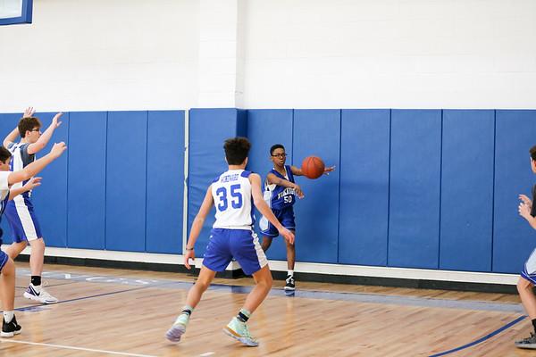 WMS vs. MMS Grades 8 & 9 Boys Basketball - December 20, 2019