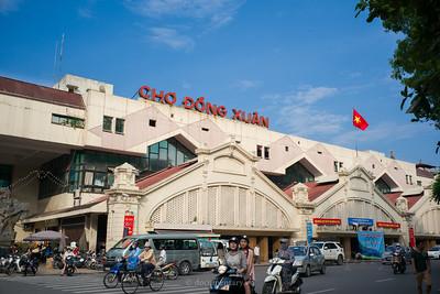 Hà Nội - Đồng Xuân market
