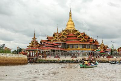 Inle Lake - Phaung Da Oo Pagoda and Maing Thauk