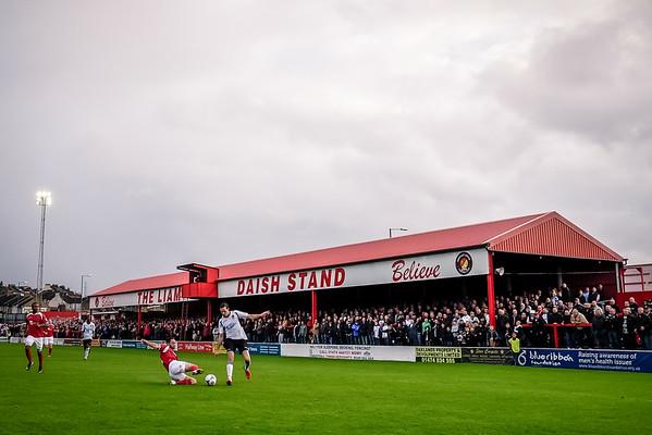 Ebbsfleet United v Dartford