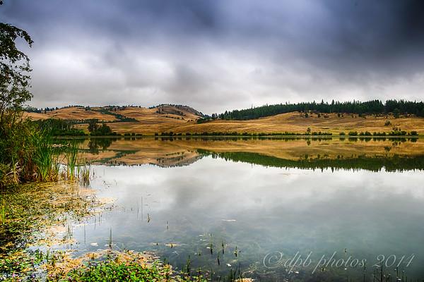 Lake Reflections ~ B.C.