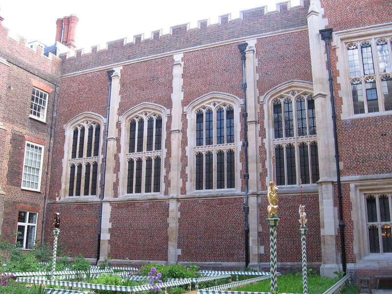 Exterior of the Chapel Royal, Hampton Court Palace