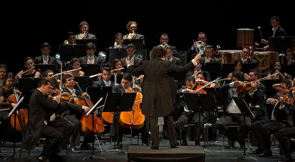 Simon Bolivar Orchestra of Venezuela with Gustavo Dudamel Conducting,Zellerbach Hall,Berkeley,CA September 24,2015