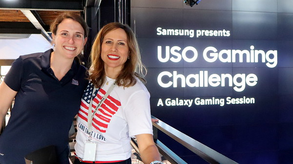 2019 Fleet Week USO - Samsung Gaming