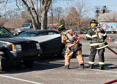 WHBFD Car Fire Drill 4-14