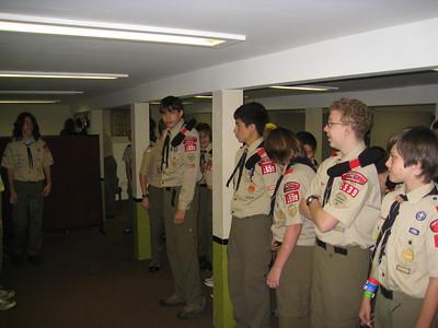 Troop Meeting - Oct 13