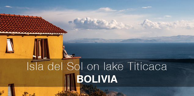 Isla del Sol on Lake Titicaca, Bolivia in South America