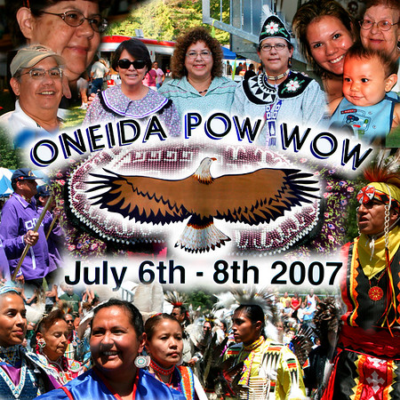 Onieda Pow Wow, 35th Annual Event July 5th and 6th, 2007, Oneida Wisconsin
