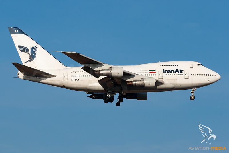 Iran Air | Boeing 747SP-86 | EP-IAB