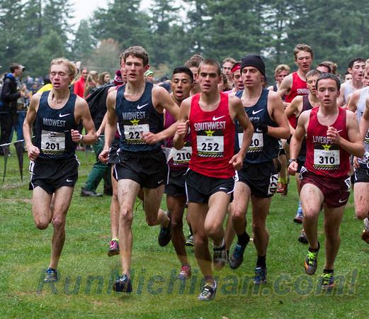2015 Nike Cross Nationals (Michigan entrants)