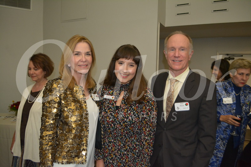 Princess Emilie Risha with Loretta Savery and Jack Black