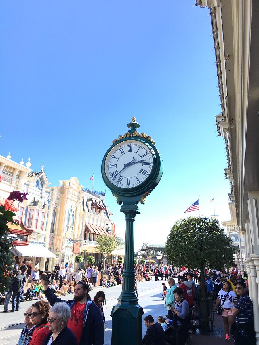 Clock - Walt Disney World Magic Kingdom