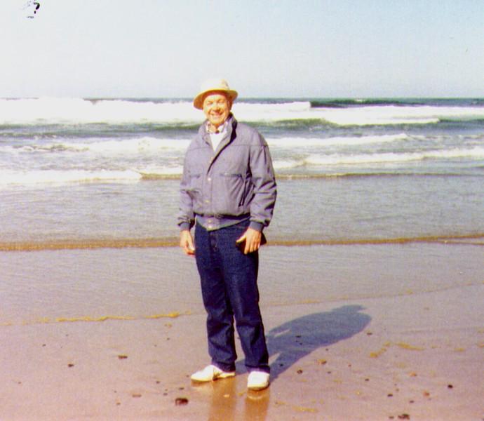 Wayne on the Beach, Oregon Coast, 1991 -1.jpg