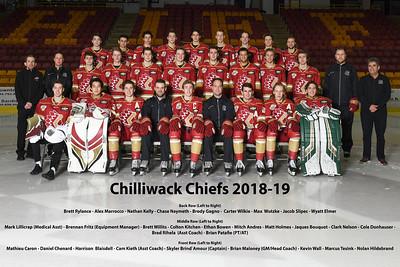 Chilliwack Chiefs 2018/19 Season