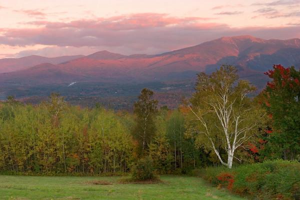 The White Mountains At Dawn