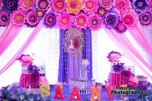 Saanvi 1st Birthday