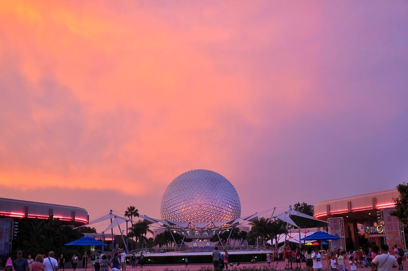 DSC_0185- Epcot Sunset.jpg