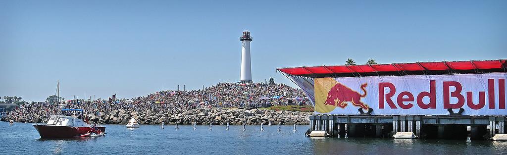 . 08/21/10:  Red Bull Flugtag Long Beach at Rainbow Harbor on Saturday, August 21, 2010..Photo by Diandra Jay/Press-Telegram