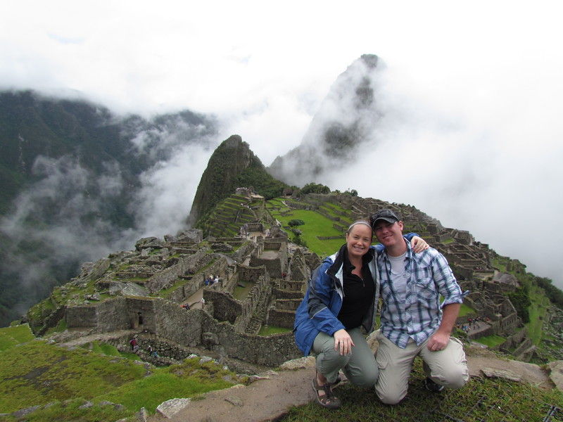 Divergent Travelers at Machu Picchu in Peru
