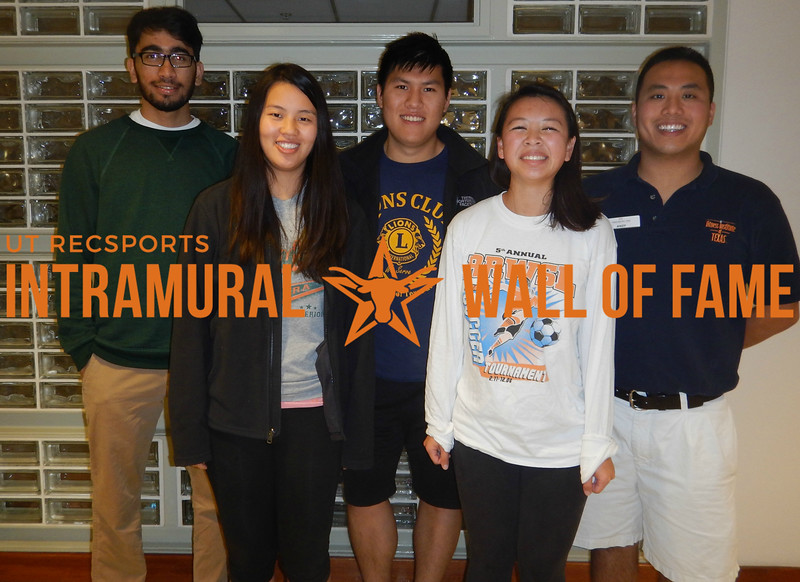 TEAM TENNIS Coed C Champion  Lion's Club Two  R1: Emily Bell, Meghan Ha R2: Syed Shahabuddin, James Yang, Andy Cheng Not Pictured: Kristie Lee, Bryan Nguyen, Zexin Zhang