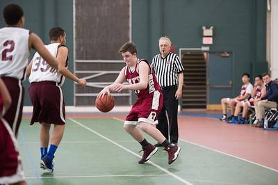 1/9/17: Boys' Fourths Basketball v Hebrew_010917-BF