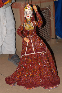 Puppet show at the Rajasthan Day Celebrations in Jaipur, March/April 2007, India.  With the aim of showcasing Rajasthan State's culture & heritage and reviving the traditional sports, cuisines and folk-art, Rajasthan Diwas Celebrations were held from 21st March to 30th March 2007. Craft-Bazaar, Food Festival, Night Bazaar, Sports competitions, spectacular fire-works, Mega Cultural Concerts, and competitions for school students were organized.