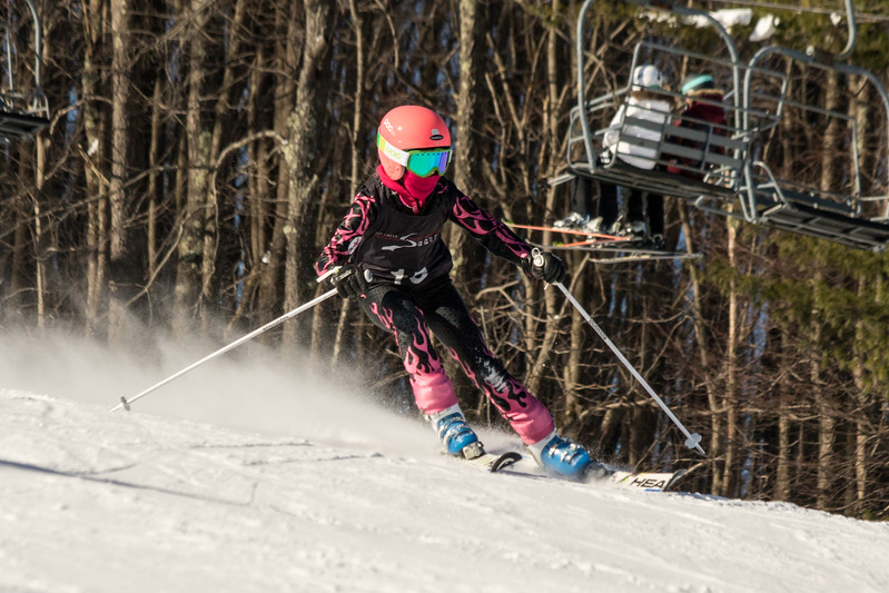 Madelyn Wandel No. 15 (WPRC) Grenier Law Group GS Race U8-U19 - Wisp Resort