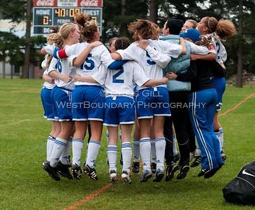 OHS  Vikings vs LaConner HS Girls Soccer 2 - 1