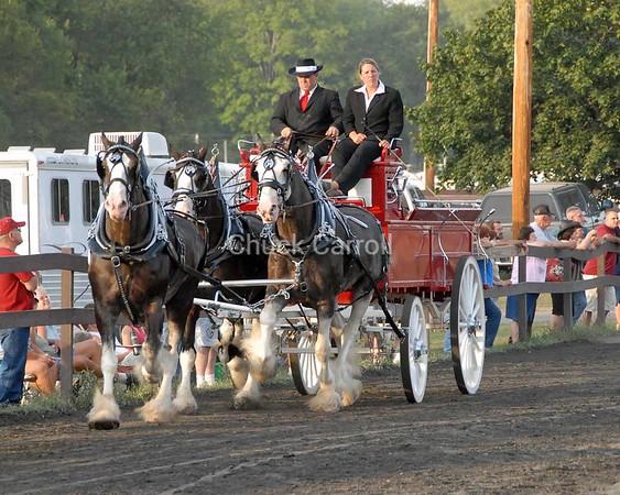 Grange Fair 2008 --  Draft Horses  -  Unicorn  --   Saturday August 23
