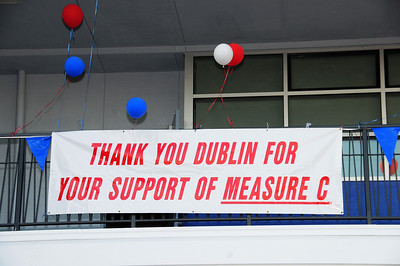 Dublin High School Math Science Complex Ribbon Cutting Ceremony - 29 Oct 2008