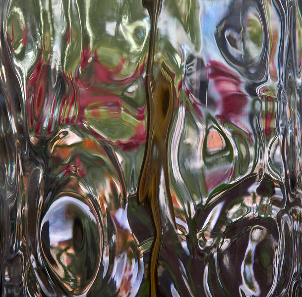 Glass Lamp Abstract, Lucas Valley, 2012