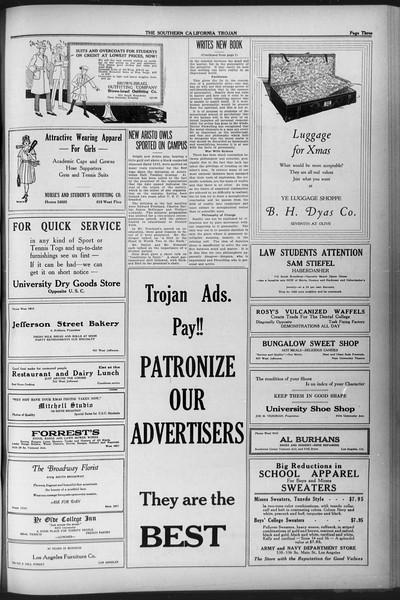 The Southern California Trojan, Vol. 12, No. 40, December 09, 1920
