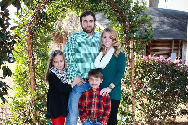 Trevor, Sarah, and Kids ~ Dec 2017