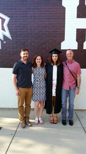 Rebecca Graduation May 5-7, 2016