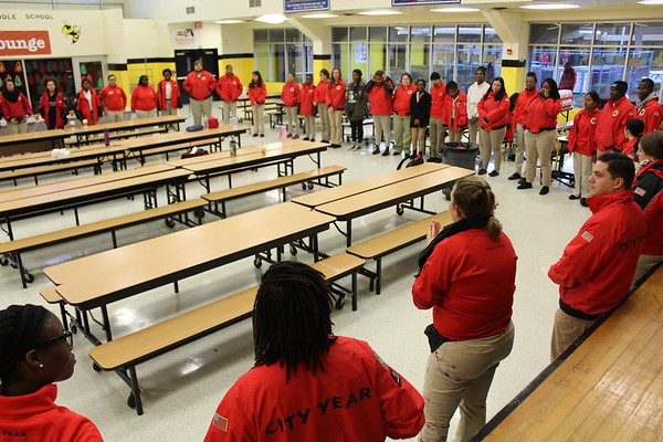 Martin Luther King Jr. Day 2018 - City Year Jacksonville