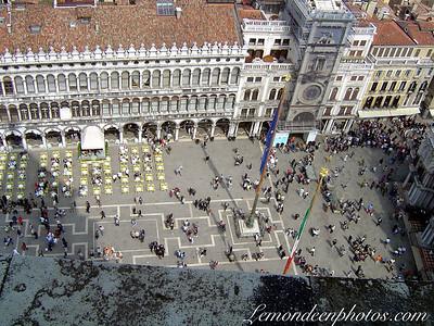 Venise vue de la Tour du Campanile