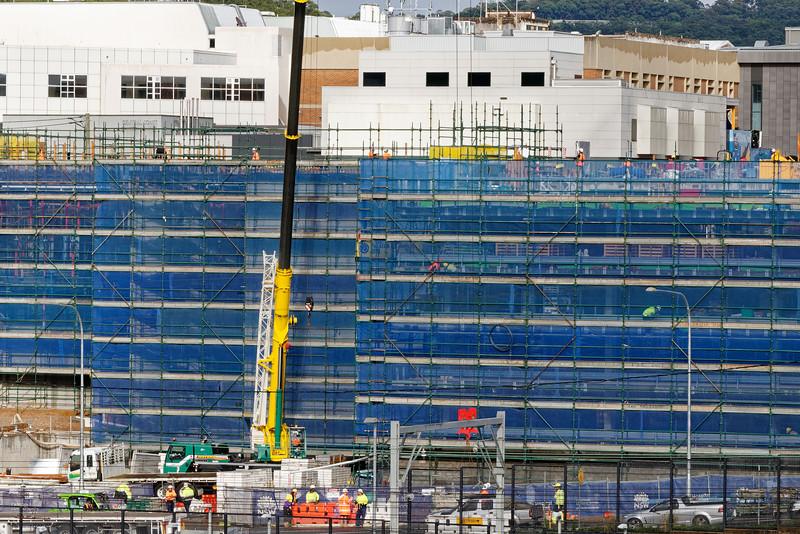 Gosford Hospital building progress H50ed October 2018.