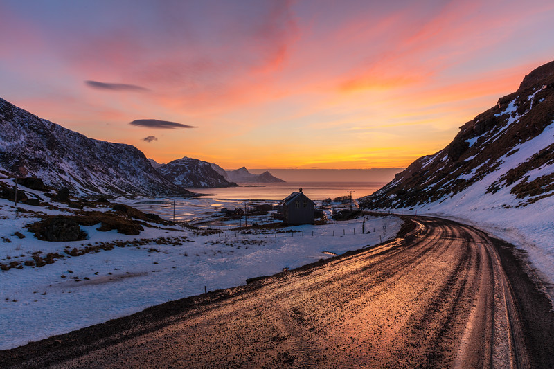 Sunset on Lofoten