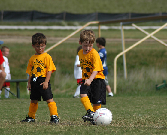 Tiger Soccer League Play Oct. 2007