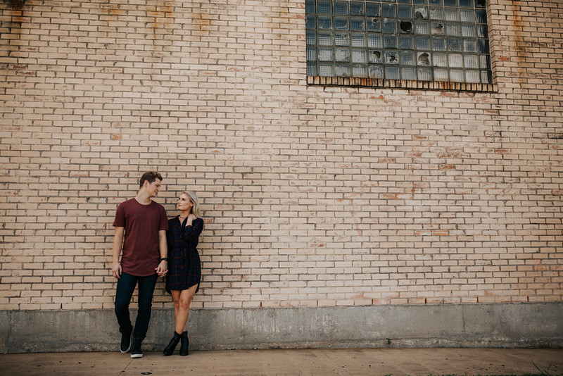 Josiah + Marley's Houston Heights Engagement