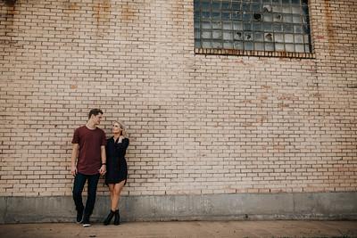 Josiah + Marley's Houston Heights Engagement