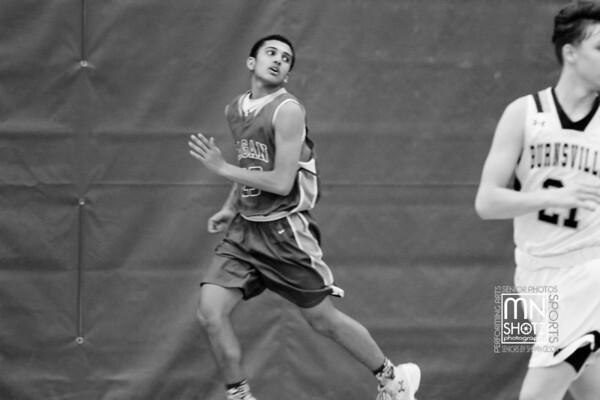 2017 Senior Night Varsity Basketball vs Burnsville