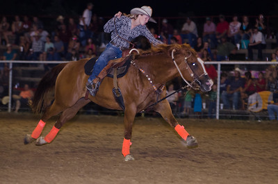 IPRA RODEO, STRATFORD OK. BARREL RACING
