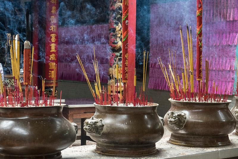 Burning incense 3