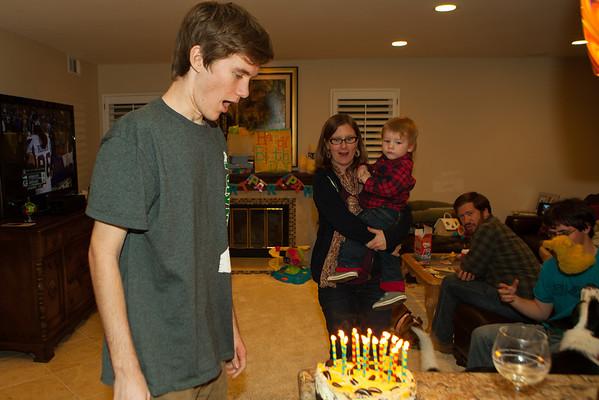 Josh's 19th Birthday 2013