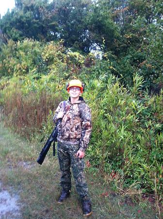 first deer hunt 2013
