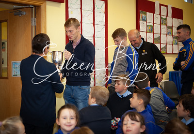 County Final Winners visit Kilcommon NS